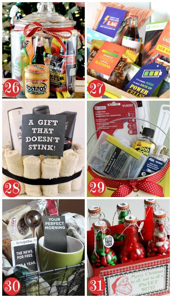 Christmas Basket DIY  50 Themed Christmas Basket Ideas The Dating Divas