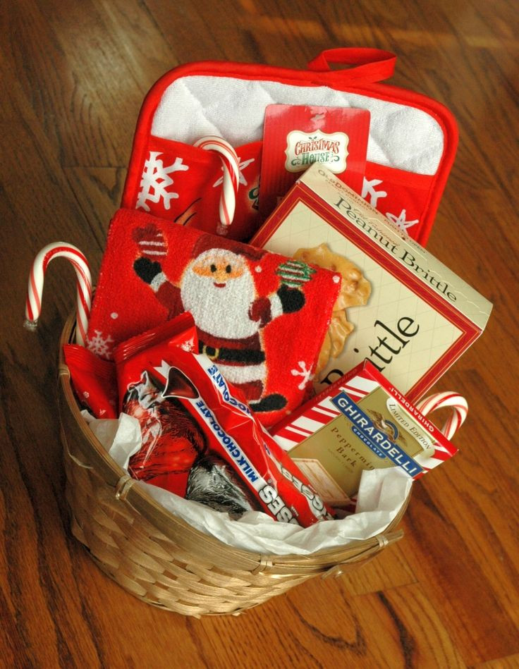 Christmas Basket DIY  1000 ideas about Food Gift Baskets on Pinterest