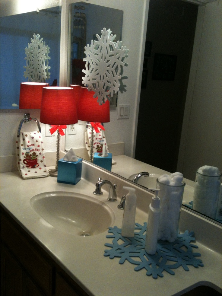 Christmas Bathroom Decorations  20 Amazing Christmas Bathroom Decoration Ideas Feed