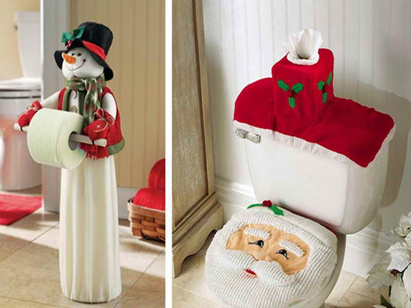 Christmas Bathroom Decorations  Decoration Picture of Bathroom Decorations Interior