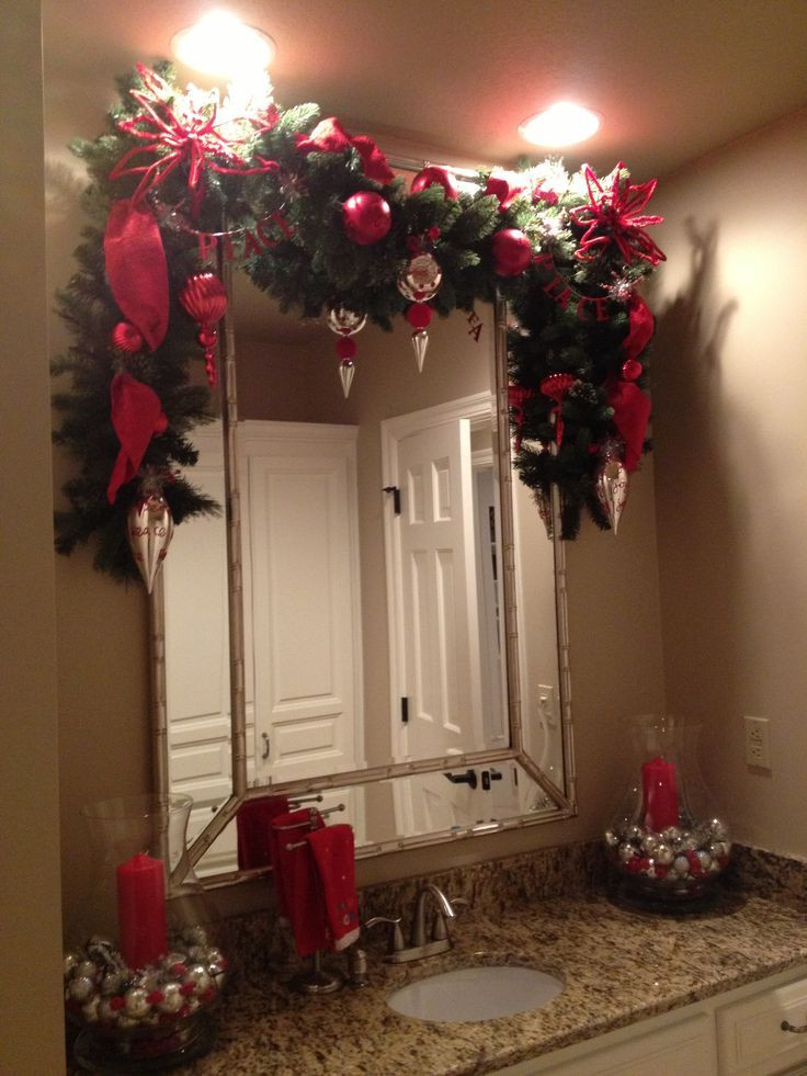 Christmas Bathroom Decorations  44 best images about Christmas bathroom decor on Pinterest