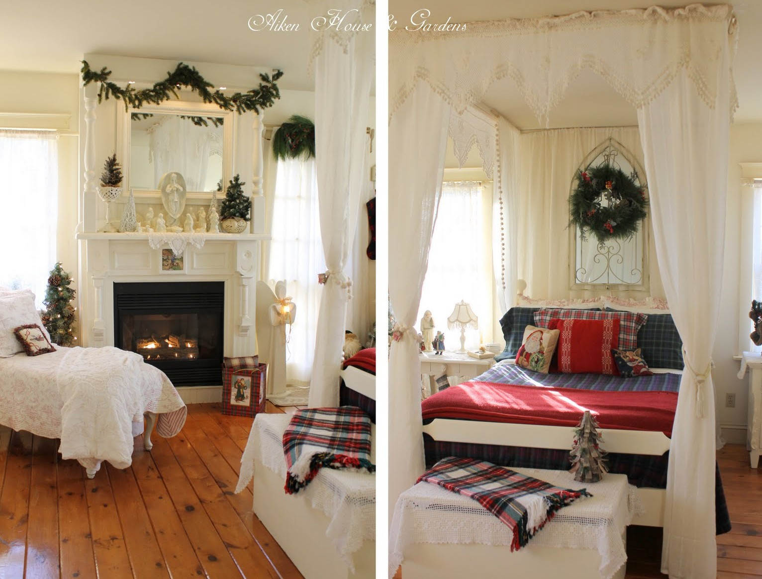 Christmas Bedroom Decor  30 Christmas Bedroom Decorations Ideas