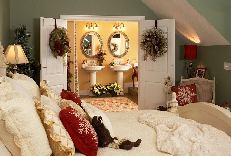 Christmas Bedroom Decor  10 Christmas Bedroom Decorating Ideas Inspirations