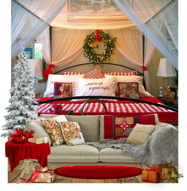 Christmas Bedroom Decor  Best 25 Christmas bedroom ideas on Pinterest