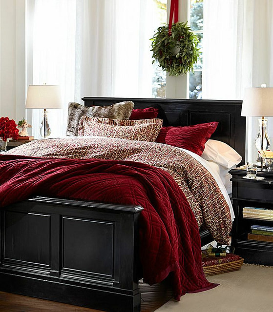 Christmas Bedroom Decor  Holiday Bedroom Decor Ideas
