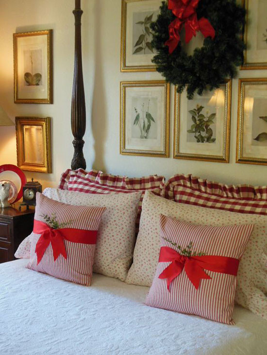 Christmas Bedroom Decor  35 Mesmerizing Christmas Bedroom Decorating Ideas All