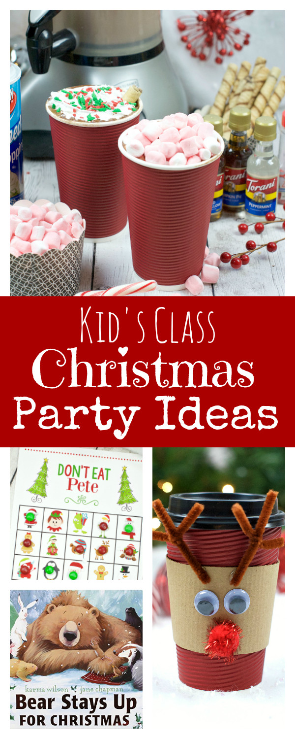Christmas Class Party Ideas  Kid s School Christmas Party Ideas – Fun Squared