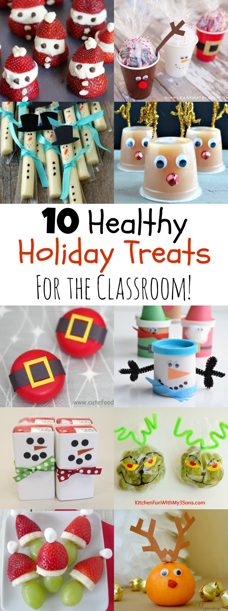 Christmas Class Party Ideas  10 Healthy Holiday Treats for the Classroom MOMables