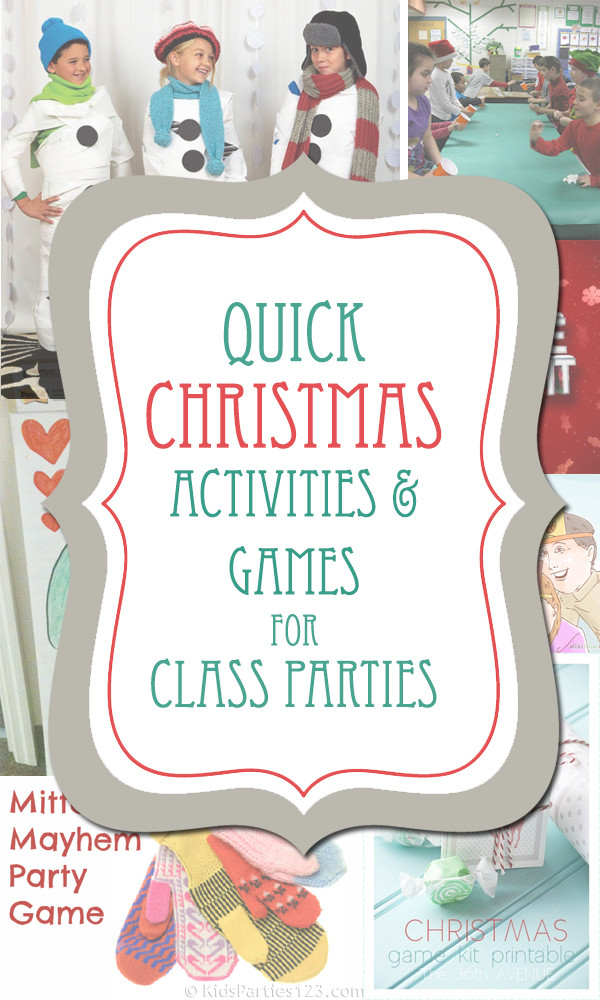 Christmas Class Party Ideas  Christmas Class Party Ideas The Crafting Chicks