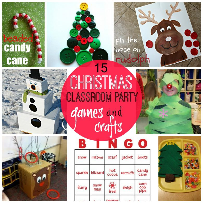 Christmas Class Party Ideas  games for christmas classroom parties A girl and a glue gun