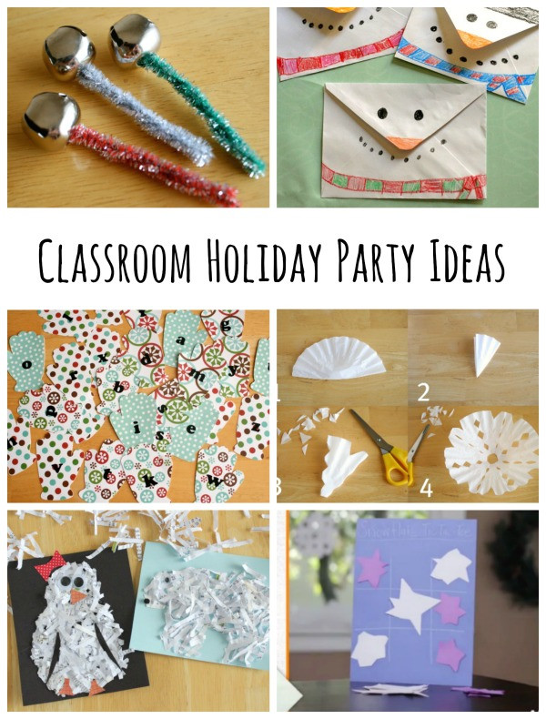 Christmas Class Party Ideas  Classroom Holiday Party Ideas