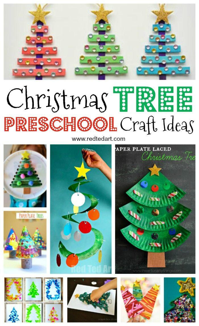 Christmas Craft Ideas For Pre School  Best 25 Christmas tree mat ideas on Pinterest