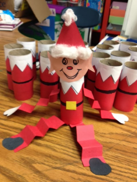 Christmas Craft Ideas For Pre School  Crayons & Cuties In Kindergarten Scout Elf Adoption