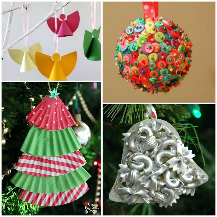 Christmas Craft Ideas For Pre School  An Alphabet Christmas Ornament Crafts For Kids