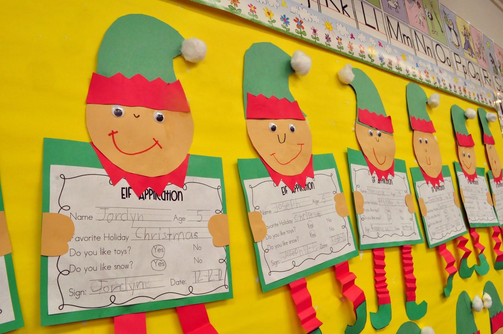 Christmas Craft Ideas For Pre School  Mrs Ricca s Kindergarten Christmas Crafts & Freebies