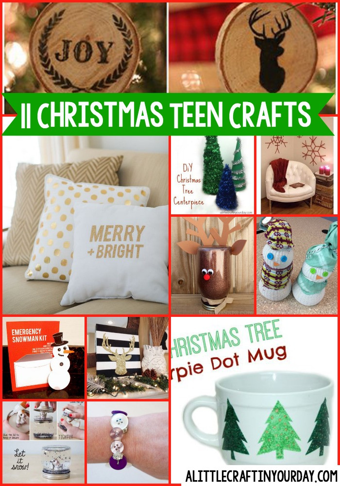 Christmas Crafts For Teens  11 DIY Christmas Teen Crafts A Little Craft In Your Day