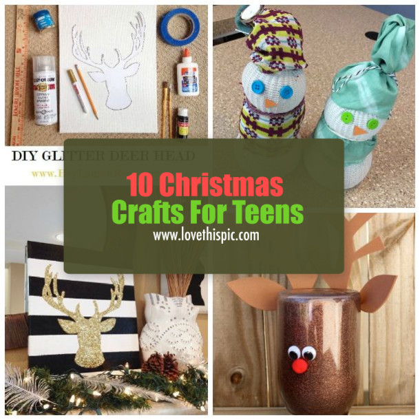Christmas Crafts For Teens  10 Christmas Crafts For Teens