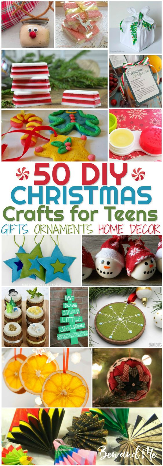 Christmas Crafts For Teens  DIY Christmas Crafts for Teens Homeschool Giveaways
