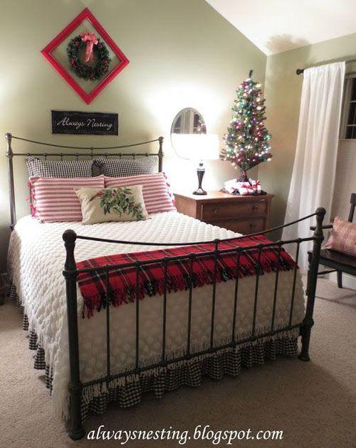 Christmas Decoration For Bedroom  Christmas bedroom Bedroom decorating ideas and Decorating