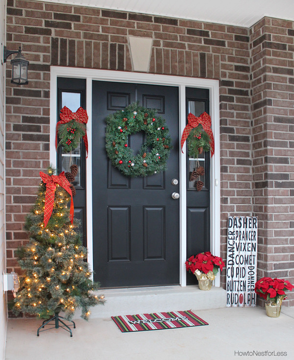 Christmas Decorations For Front Porch  30 Christmas Decor Ideas Christmas and Holiday Decorations