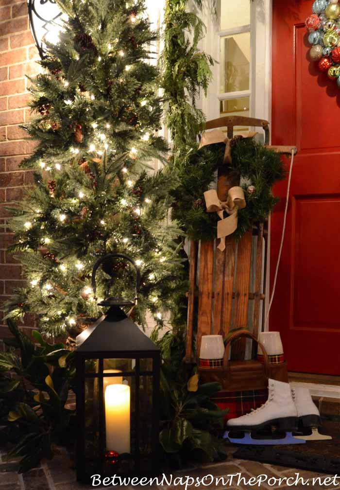 Christmas Decorations For Front Porch  Christmas Porch Decorating Ideas