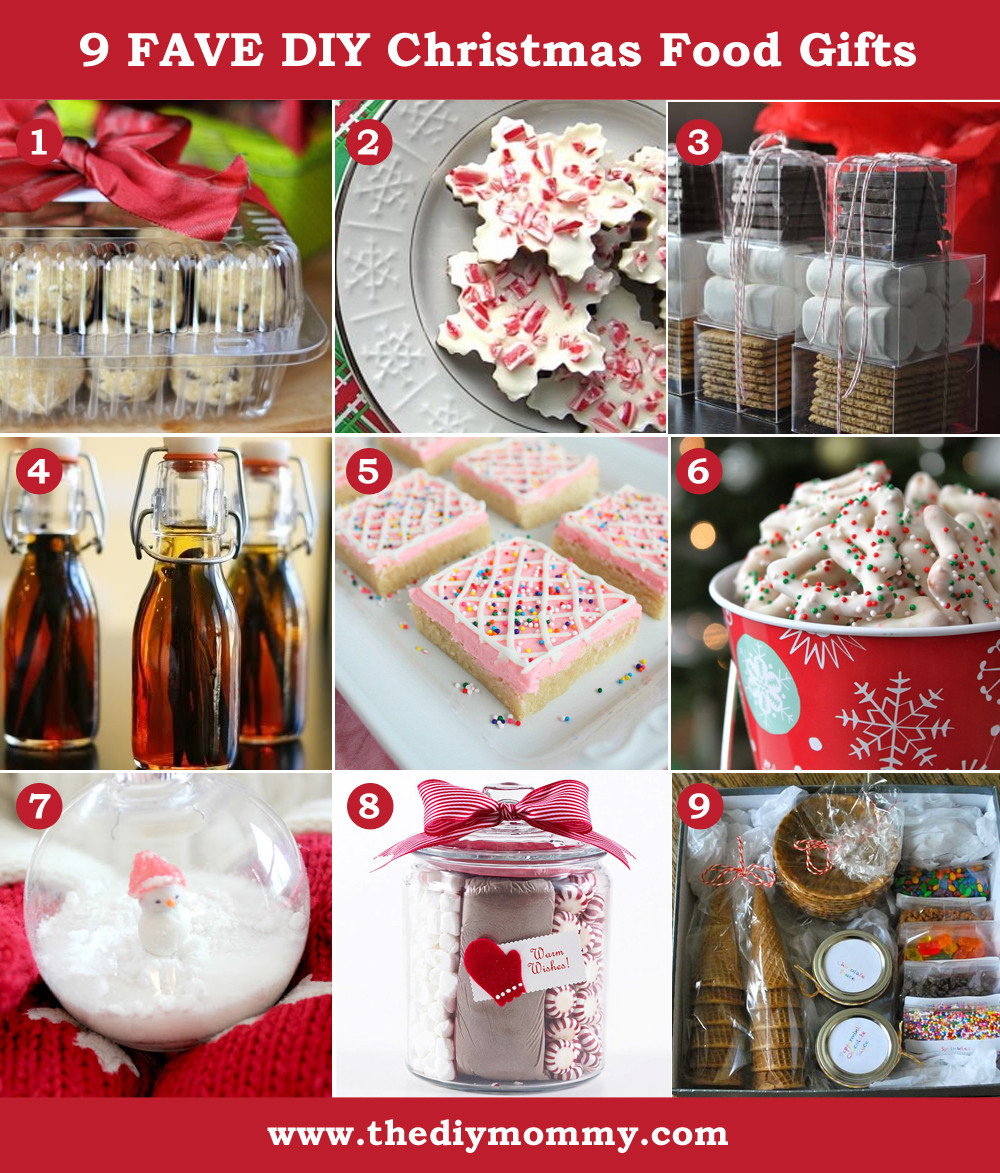 Christmas DIY Gifts  A Handmade Christmas DIY Food Gifts