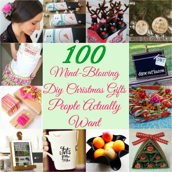 Christmas DIY Gifts  100 Mind Blowing DIY Christmas Gifts People Actually Want