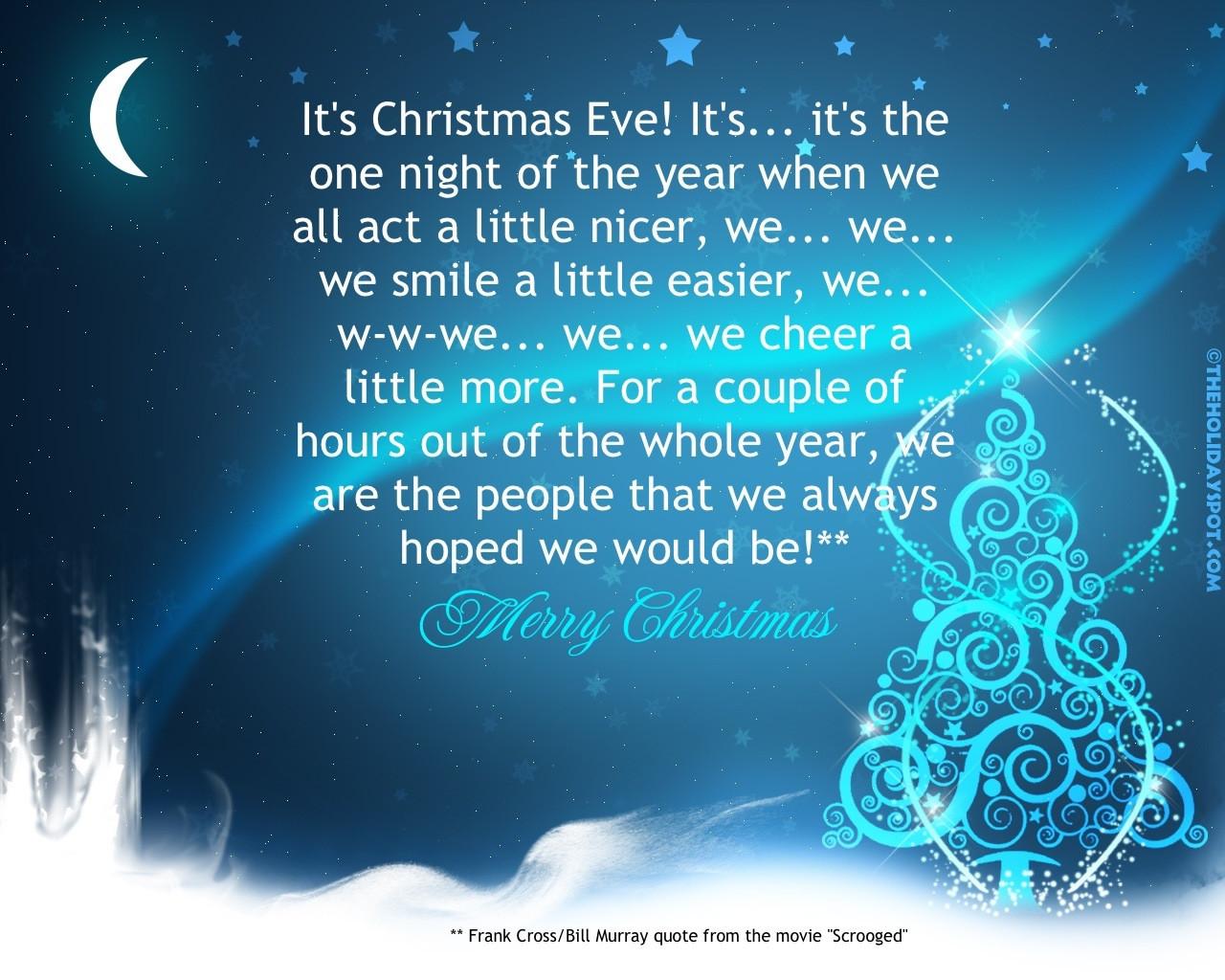 Christmas Eve Quotes  Christmas Eve