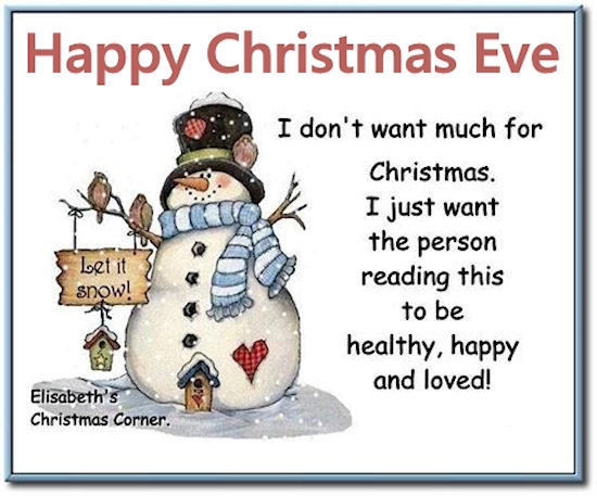 Christmas Eve Quotes  Cute Christmas Eve Quote s and for