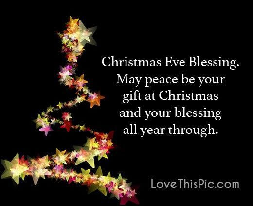 Christmas Eve Quotes  Christmas Eve Blessings Quote s and