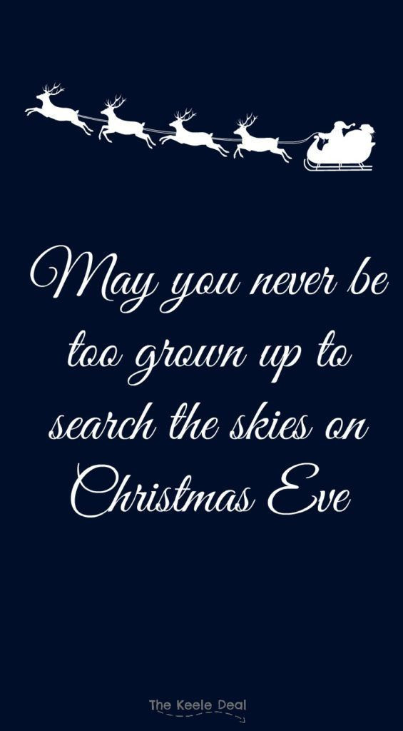 Christmas Eve Quotes  Christmas Quotes Best of The Keele Deal