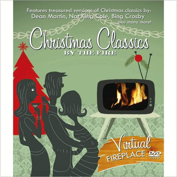 """Christmas Fireplace Dvd  Christmas Classics by the Fire by Dean Martin Nat """"King"""