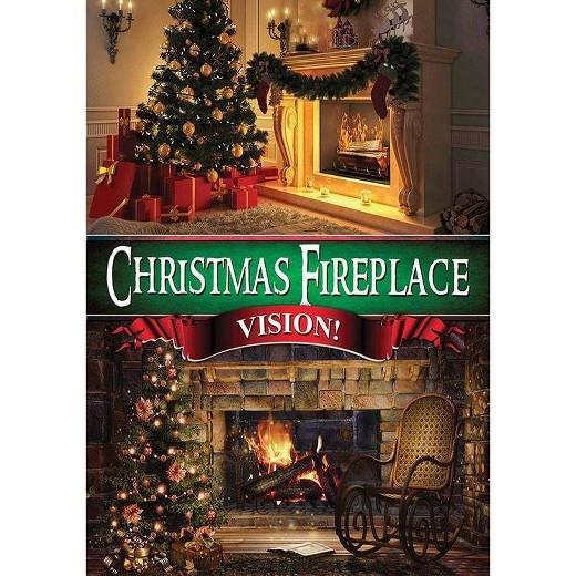Christmas Fireplace Dvd  Christmas Fireplace Vision DVD Tar