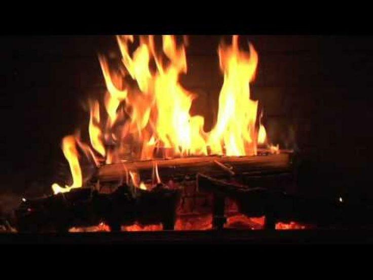 Christmas Fireplace Dvd  crackling fire screensaver