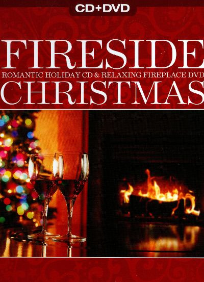 Christmas Fireplace Dvd  Fireside Christmas Romantic Holiday CD & Relaxing