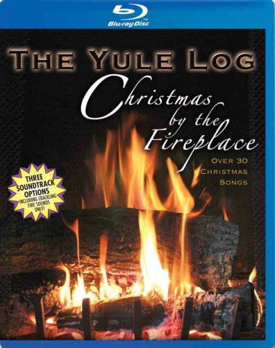 Christmas Fireplace Dvd  Yule Log Christmas By the Fireplace [Blu ray] on DVD Blu