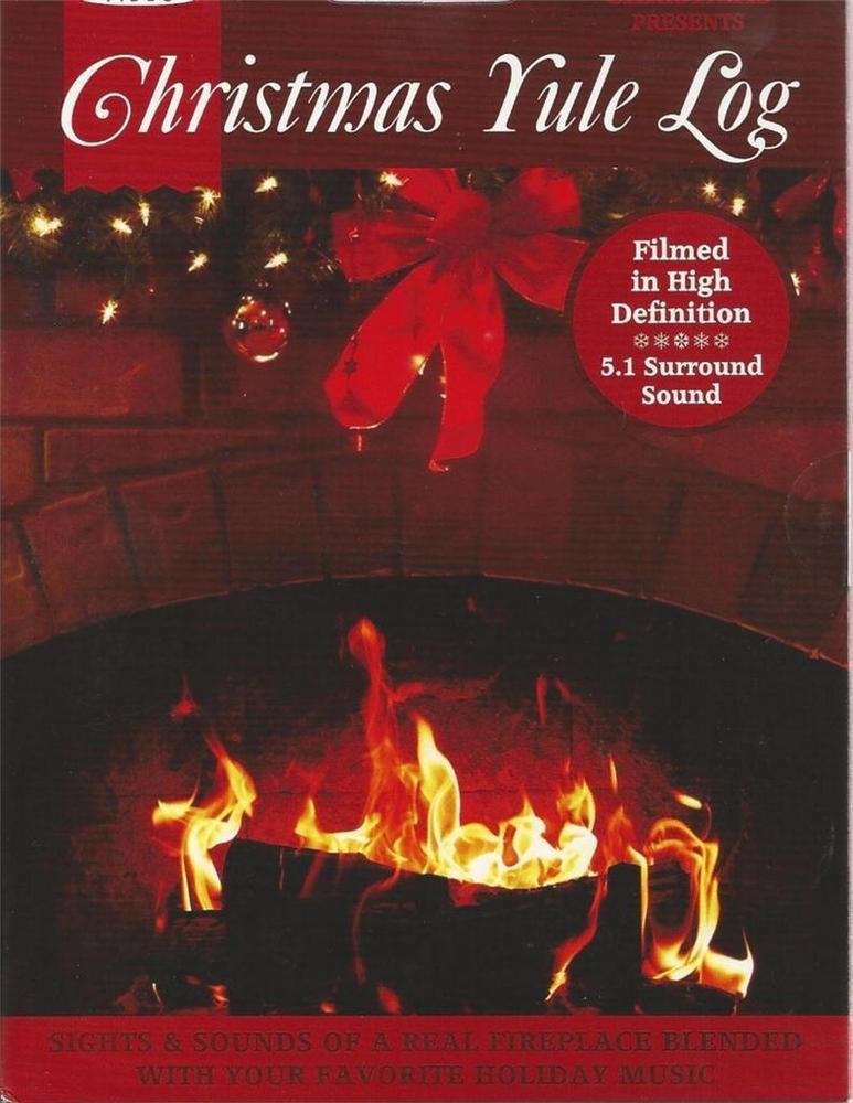 Christmas Fireplace Dvd  A VERY MERRY CHRISTMAS FIREPLACE YULE LOG MUSIC HOLIDAY