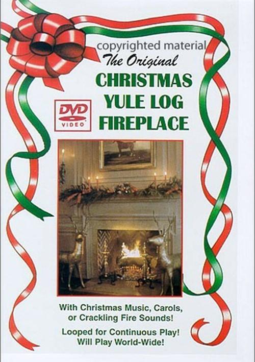 Christmas Fireplace Dvd  Christmas Yule Log Fireplace DVD 1987