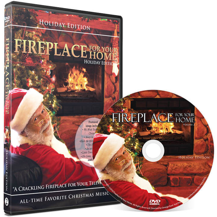 Christmas Fireplace Dvd  Fireplace For Your Home DVD Holiday Yule Log Edition