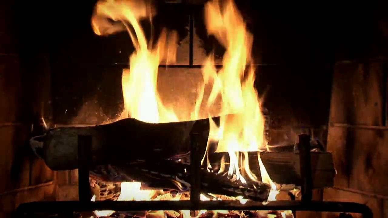 Christmas Fireplace Dvd  Beautiful Wood burning Fireplace Yule Log Video