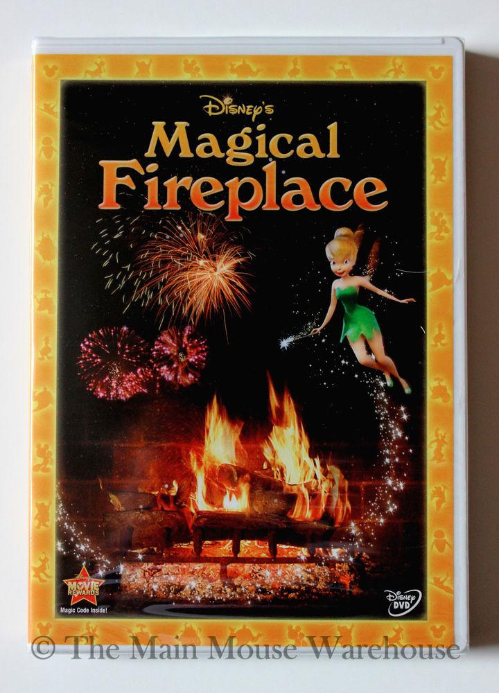 Christmas Fireplace Dvd  Disney s Magical Fun Virtual Fireplace Christmas Music