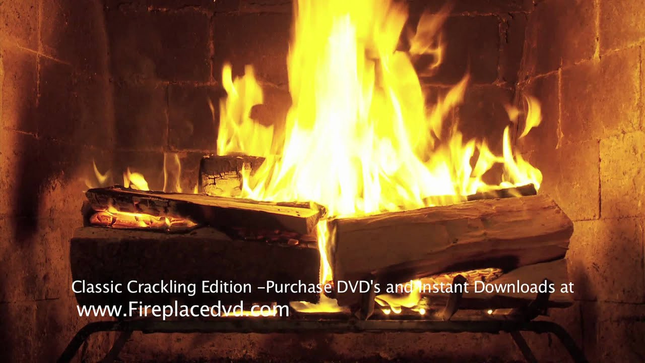 Christmas Fireplace Dvd  Fireplace Crackling Yule Log in HD 1080P Free