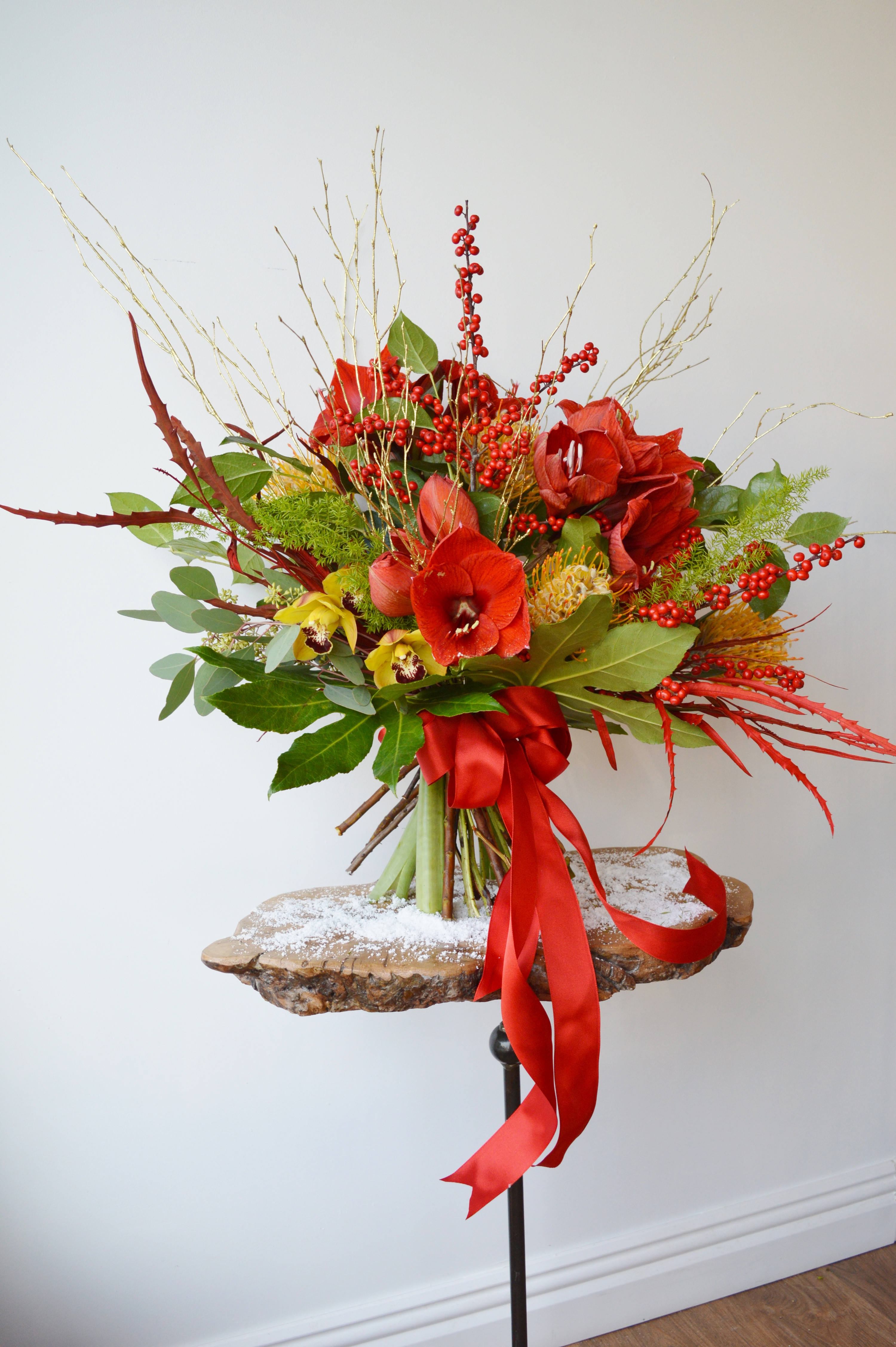 Christmas Flower Delivery  Home Wild & Wondrous flower delivery Bolton