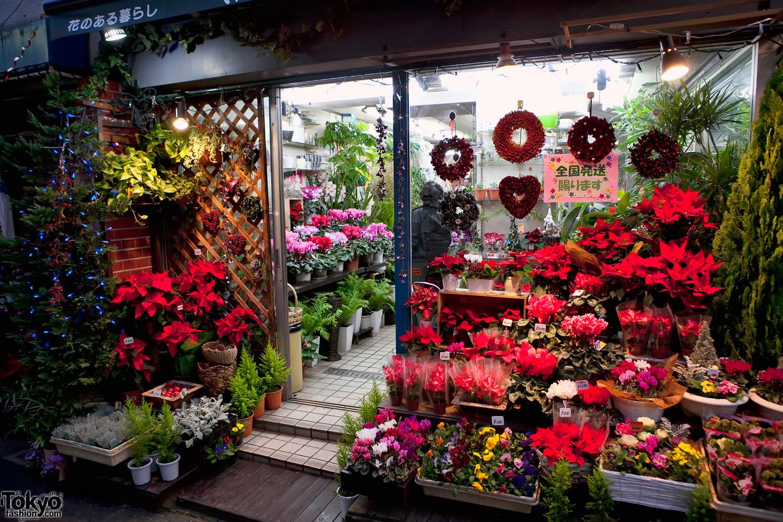 Christmas Flower Delivery  Harajuku Christmas 2010