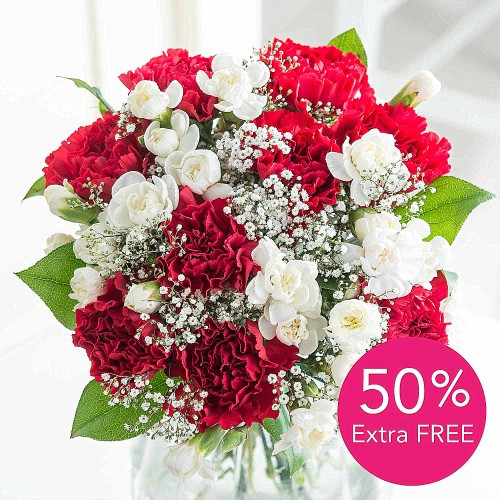 Christmas Flower Delivery  Christmas Flowers FREE Delivery & Pop Up Vase