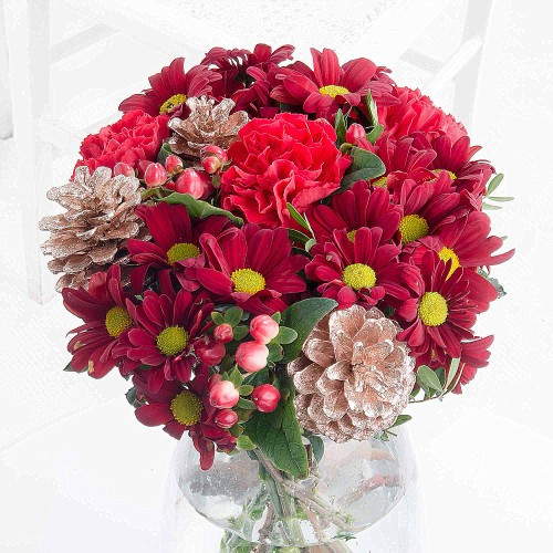 Christmas Flower Delivery  Christmas Flowers FREE Delivery