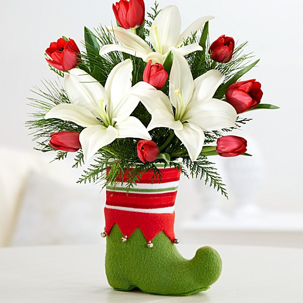 Christmas Flower Delivery  Christmas Flowers
