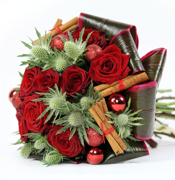 Christmas Flower Delivery  Hot Winter Flower Arrangements and Seasonal Treats by