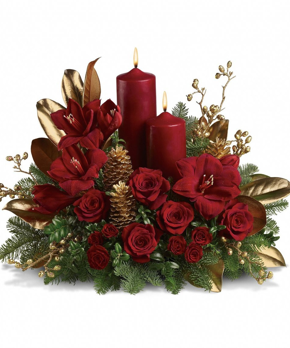 Christmas Flower Images  Christmas Flower Arrangements on Pinterest