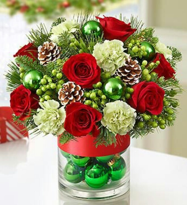 Christmas Flower Images  Beautiful Christmas decor Inspiring Ideas